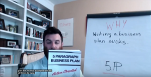 Writing A Business Plan Sucks