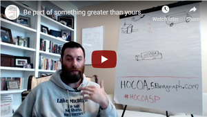 Be Part Of Something Greater Than Yourself - HOCOA