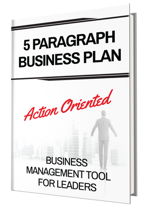 5 Paragraph Business Plan || Preparation pg. 12