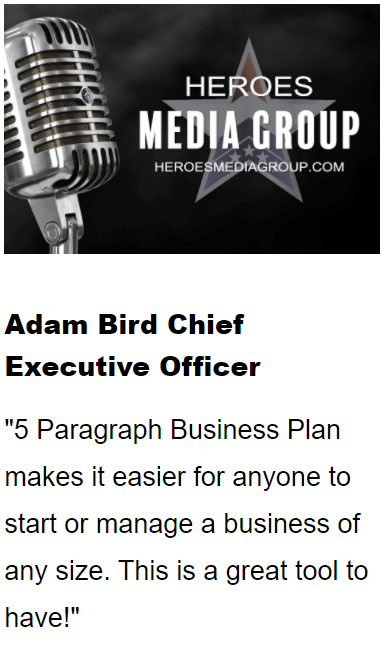 heroes media group 5paragraph