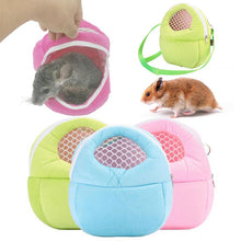 Small Pet Rat Hamster Hedgehog Chinchilla Ferret Carrier Warm Hanging Bag Supply