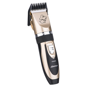 Electrical Pet Clipper Professional Grooming Kit Rechargeable Pet Cat Dog Hair Trimmer Shaver Set Haircut Machine