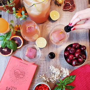 Free Blood Orange CBD Mule Mocktail Recipe - Guest blog with FreeDotCom Kitchen