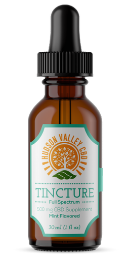 500mg Full Spectrum CBD Peppermint Tincture