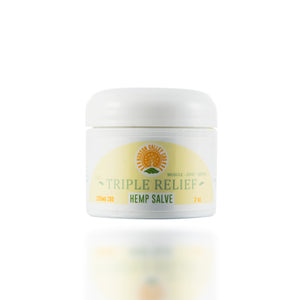 Triple Relief Pain Salve 250mg CBD