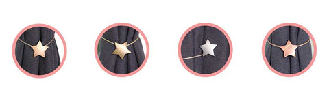 Oslo Star magnetic clip how to hang curtain tie back hooks