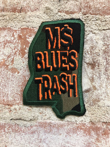 MS BLUES TRASH PATCH