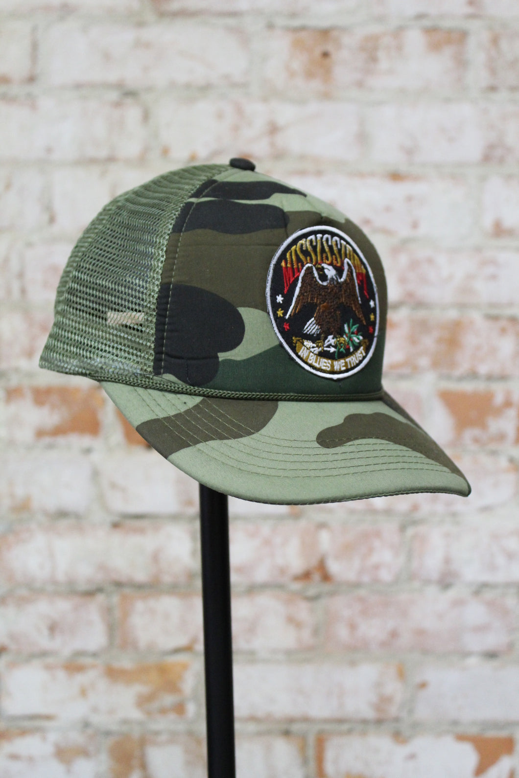 MS patch camo trucker