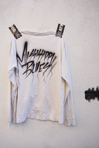 The airbrush MS BLUES tee