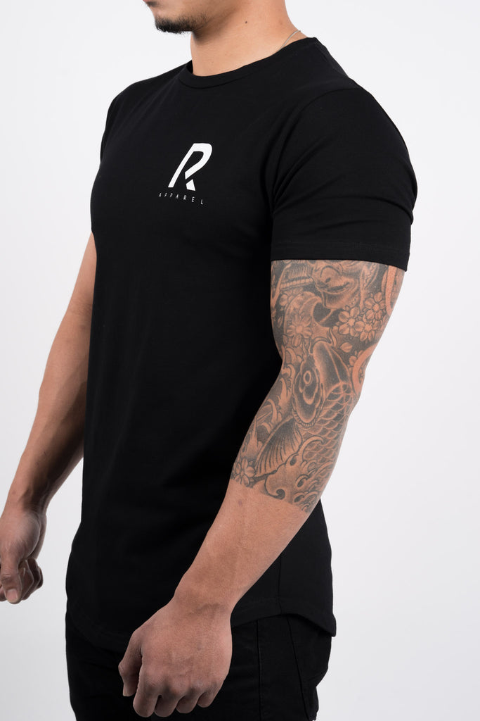 Men's R Apparel Scallop T-Shirt - Black