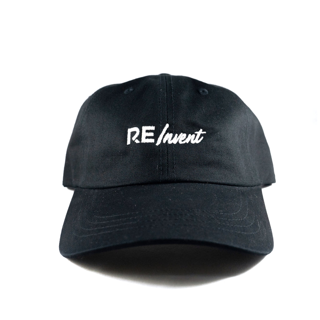 Reinvent Dad Hat - Black