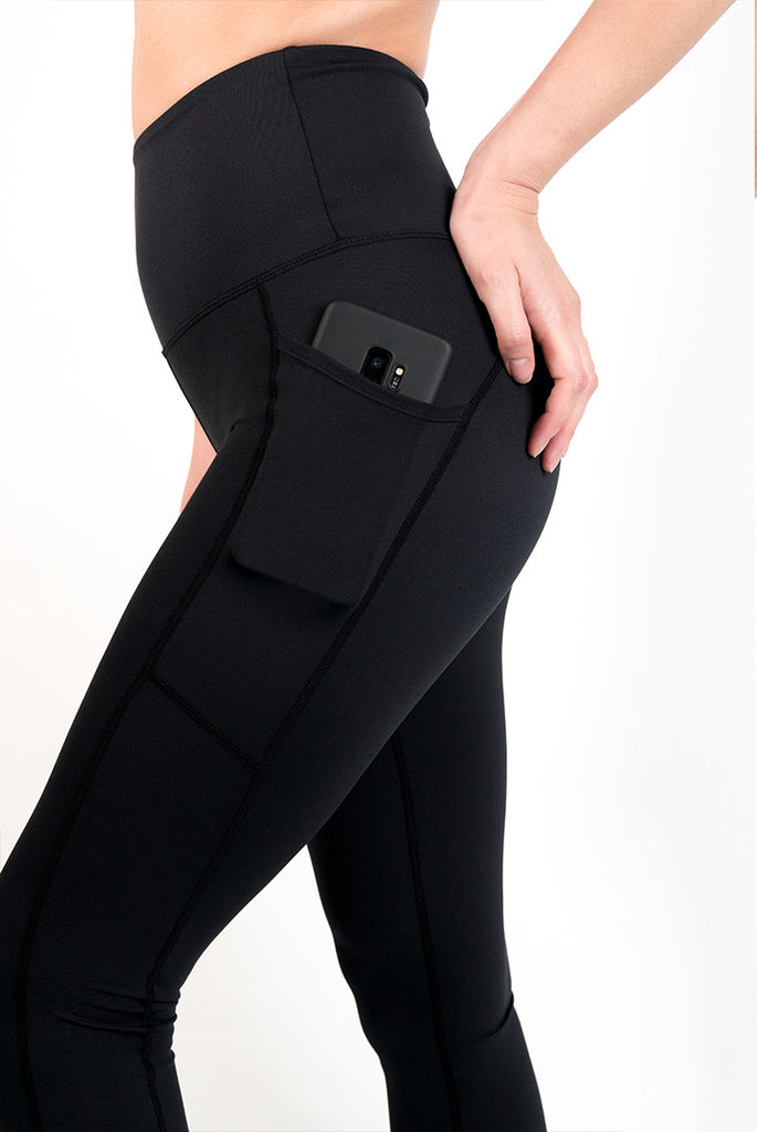 Women's Tech Leggings - Black