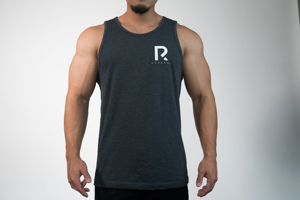 Men's R Apparel Tank Top - Charcoal