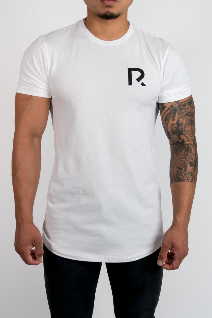 Men's R Apparel Scallop T-Shirt - White