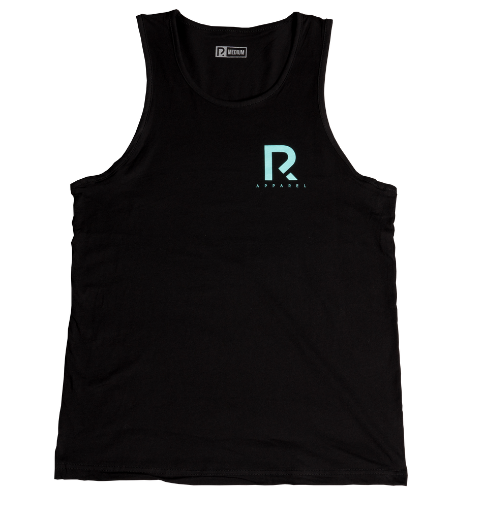 Men's R Apparel Tank Top - Black