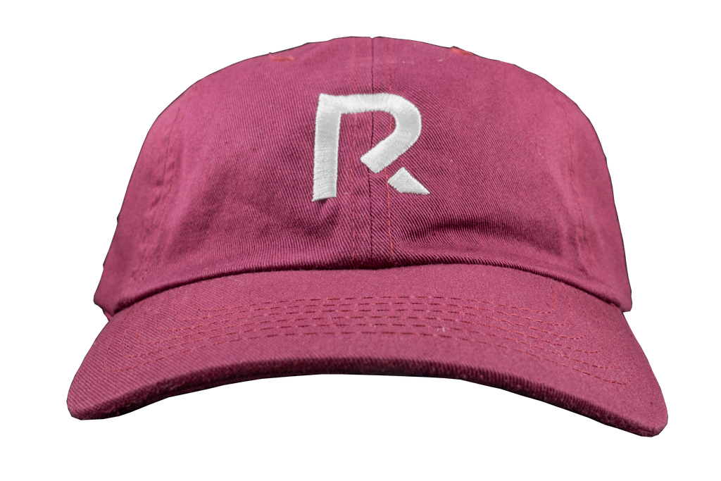R Apparel Dad Hat - Burgundy