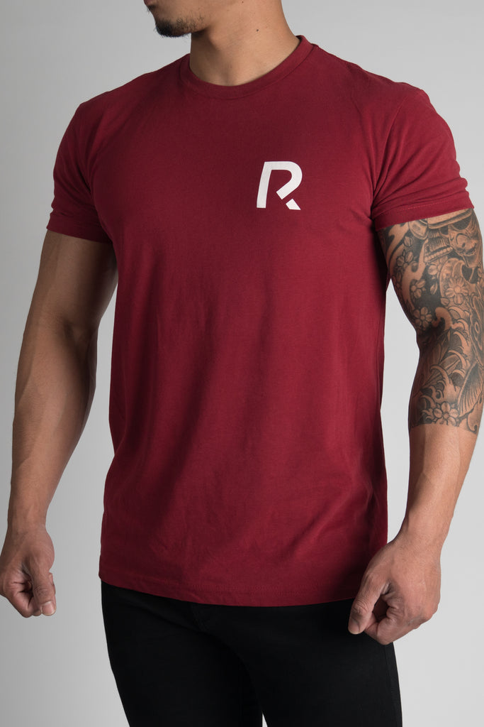 Men's R Apparel Logo T-Shirt - Sueded Crimson
