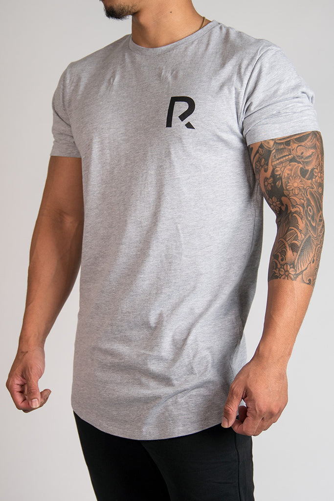 Men's R Apparel Scallop T-Shirt - Grey