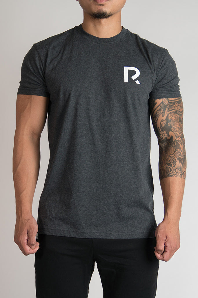 Men's R Apparel Logo T-Shirt - Charcoal