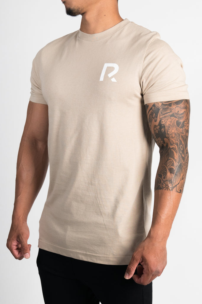 Men's R Apparel Logo T-Shirt - Tan
