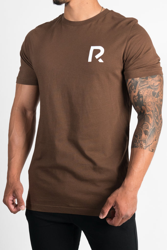 Men's R Apparel Logo T-Shirt - Brown