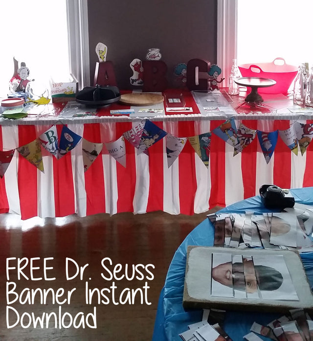 Dr. Seuss Themed Baby Shower