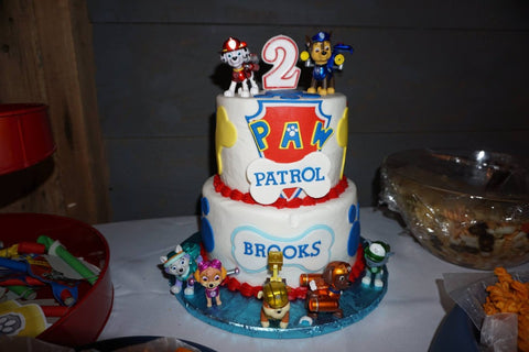Paw Patrol Themed Birthday Cake