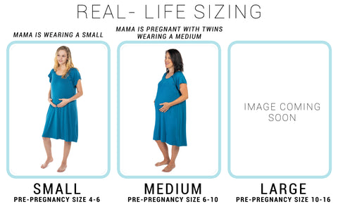 MATERNITY LABOR AND DELIVERY GOWN