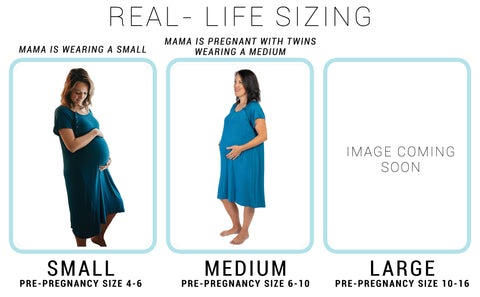 MOMMY LABOR AND DELIVERY GOWN