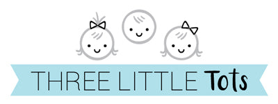 three little tots logo no touching baby car seat signs