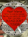 Heart Warrior Tag