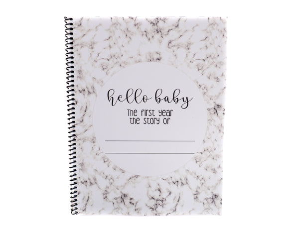 Modern Baby Book First Year Baby Memory Journal
