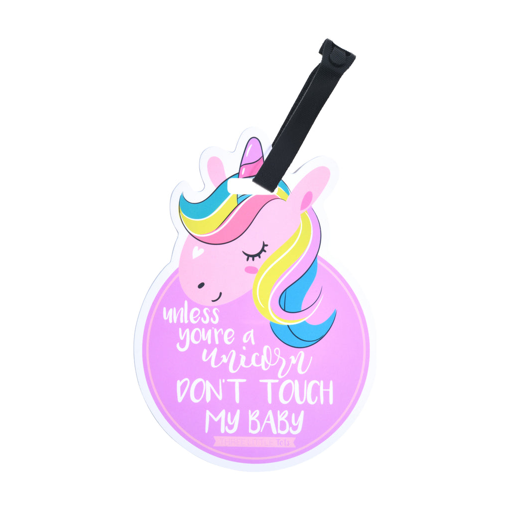 Unicorn No Touching Tag