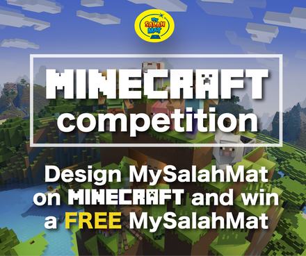 WIN!: Your Child can win a Free MySalahMat by playing Minecraft!