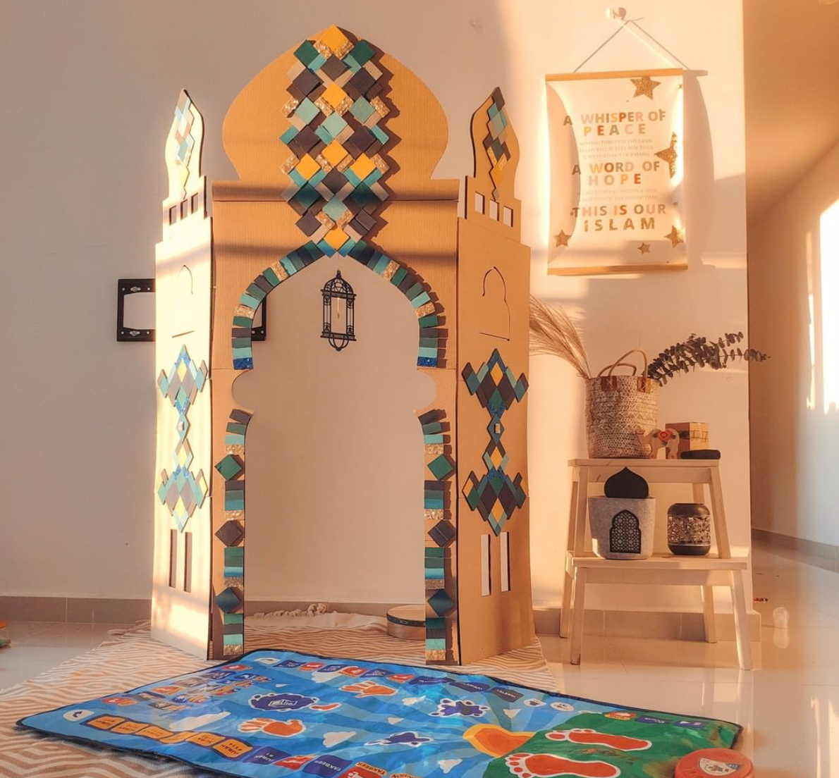Meet the Muslim Children Building Mosques at home during COVID-19 Lockdown