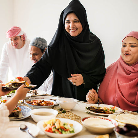 Importance of eating as a family during Ramadan