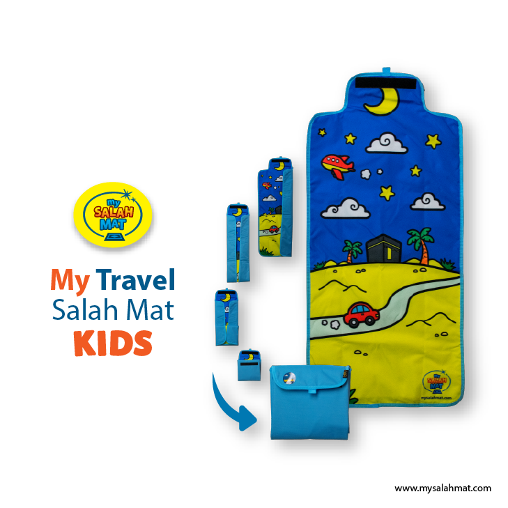 X0302 [Sample] - My Travel Salah Mat Kids