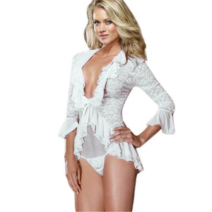 Ladies Angel Lace Sleeper All Sizes