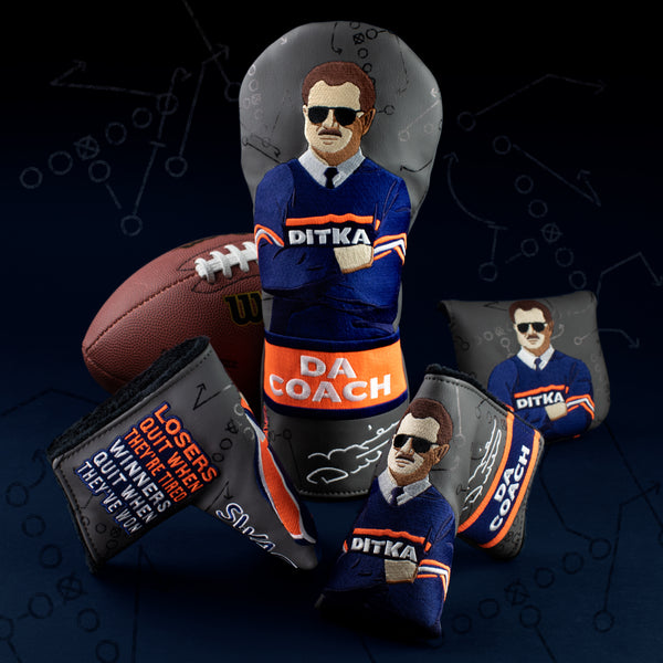 Swag Golf Mike Ditka Bears Headcover