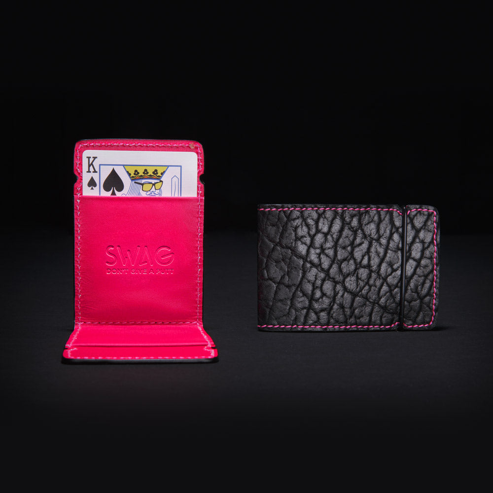 Swag Cash Cover Neon Pink & Black