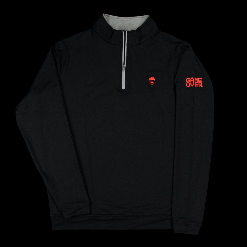 Game Over 1/4 Zip Pullover