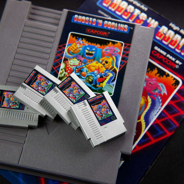 Ghosts 'N Goblins Cartridge Marker