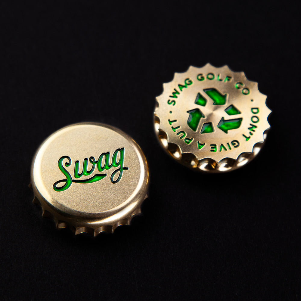 St Paddy's Bottle Cap Ball Marker
