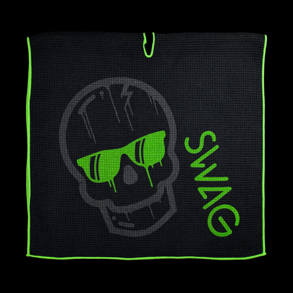 Dripping Skull Golf Towel