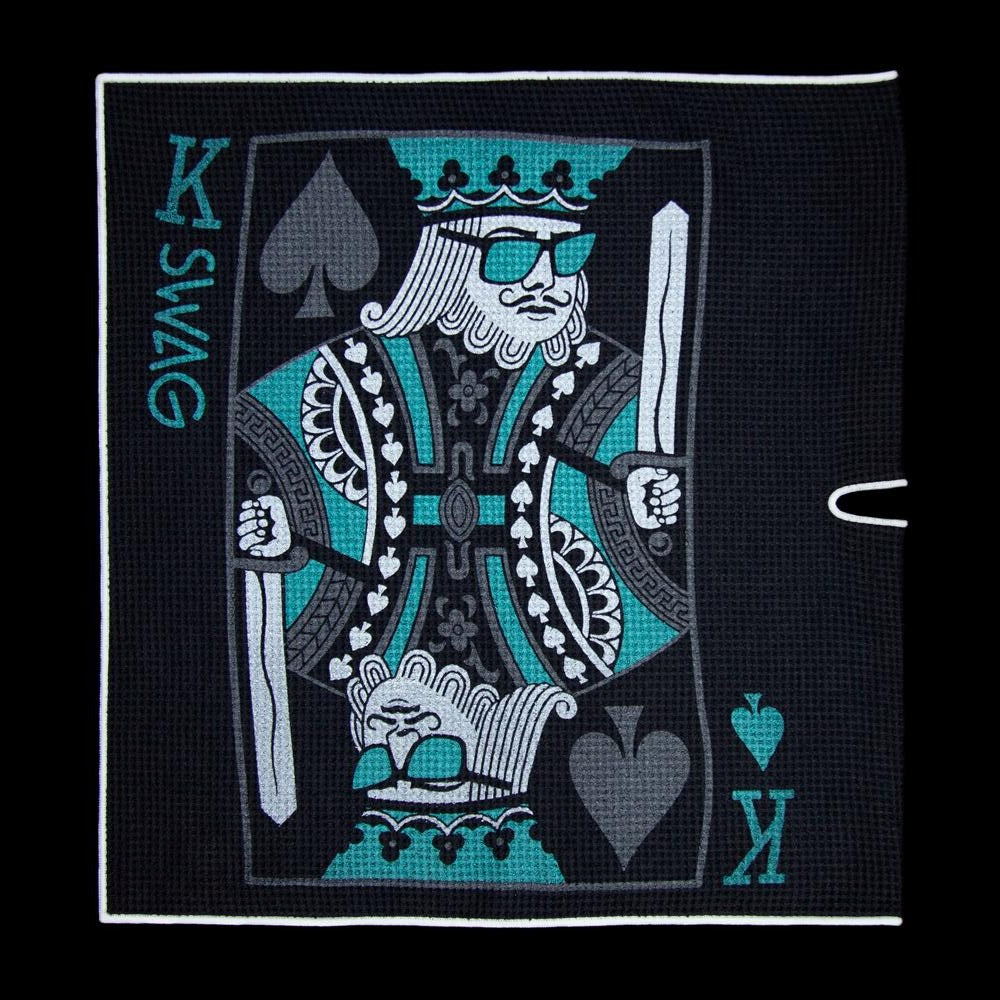 King Of Swag Golf Towel 2.0