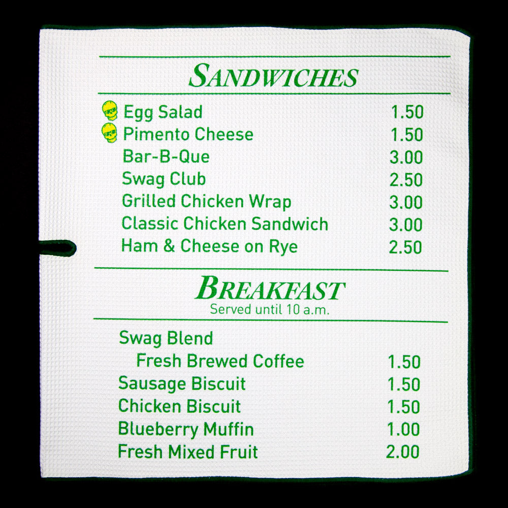 The Menu Towel