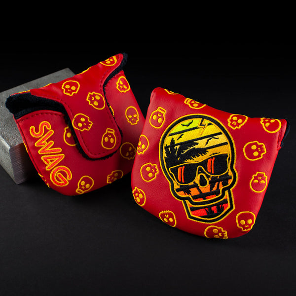 Sunset Skull Mallet Cover