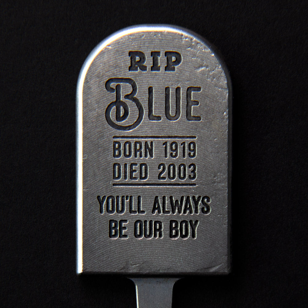 Blue Tombstone Divot Tool