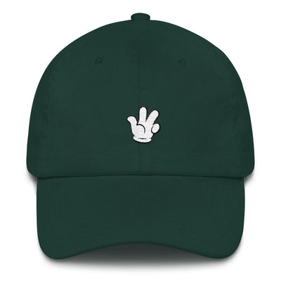 Cartoon hands Dad hat-The Tee Planet