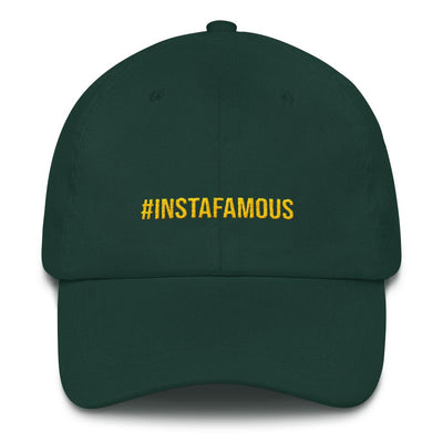 #Instafamous Dad hat-The Tee Planet